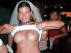 Exhibitionist Brides!