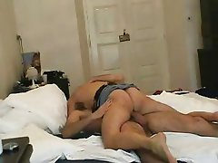 Swedish amateur couple have awesome fuck session