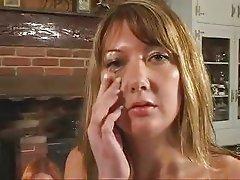 British slut Jenny Loveitt wants cum on her eyeball