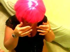 Pink Wig Cumming