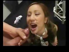 Tia Tanaka - Cumshot Compilation