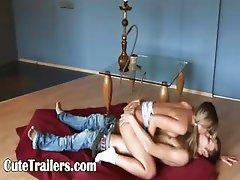 princesses sex on the floor