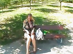 Jane Darling in public park sex