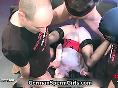 Two horny german sluts love having part3