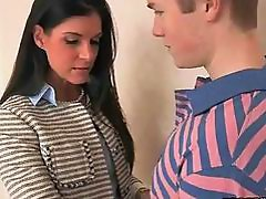 Naughty stepmom India sex with son in law