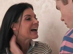 India Summer and Veronika Radke threeway