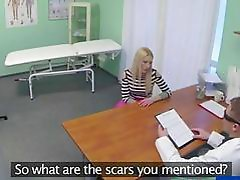 Gorgeous Uma gets fucked by the doctor