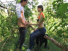 Our first havingsex in the forest