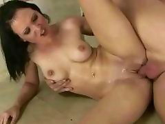 Amateur couple fucking and pissing on each other