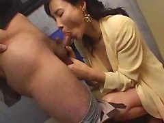 Asian Woman suck and fucked