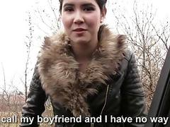 Czech babe Lady D hitchhikes and fucked