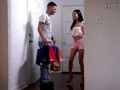 Asian hottie with small tits Vina Sky fucked by a long dick