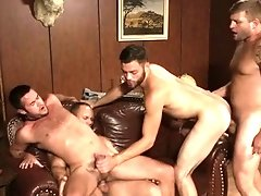 Intense anal dance with homosexuals