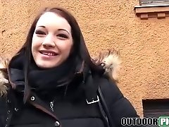 busty euro babe taking a pov ride on fat hard cock