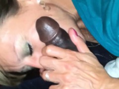 Old Housewife Enjoying a Monster Black Cock