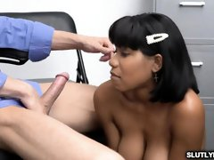 Nubile Jennas shaggy puss fucked by officer Ryan's lengthy impaler
