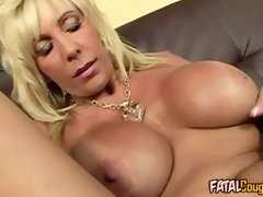Blonde Cougar Turns Cowgirl