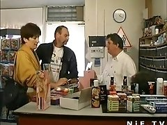 French mature fisted and anal banged