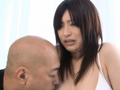 Hairy lad thrusts his ding-dong in pretty asian pussy