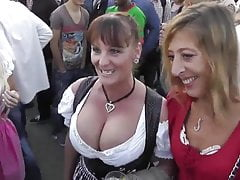 Busty Mature at Oktoberfest