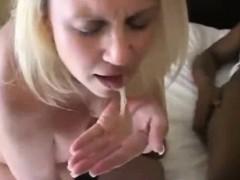 BBC Slut Gangbanged Creampied and Cumshoted