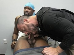 Gay black cop young boy sex first time Prostitution Sting