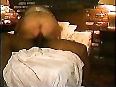Wife in a mask does interracial threesome