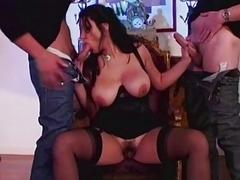Busty MILF Pamela Starr Dped And Mouth Fucked