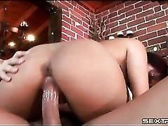 Eva Angelina blowjob and cock riding porn