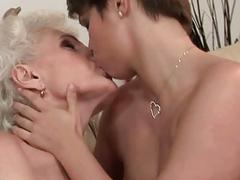 Teens and Grannies Lesbian Love Compilation