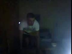 Straight guys feet on webcam #151