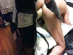 mistress and slave anal play