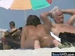 Sexy Tanned Beach Babes