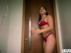 VIXEN Abella Danger has Passionate Sex With Neighbor