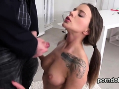 Fervent bookworm is tempted and plowed by older teacher11dTE