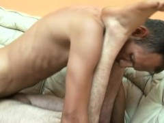Naughty gay guy gives his perky ass up for some serious slamming