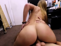 Shy blonde bride gets fucked by Shawn