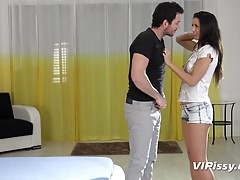 Piss Drinking - Gorgeous babe Alexa Tomas enjoys watersports