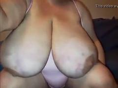 fat bouncing tits