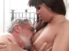 Grandpas and Sex Young Brunettes
