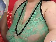 Fat Floozy Kitty Nation Satisfies Her Man Using Saggy Tits and Plump Cunt