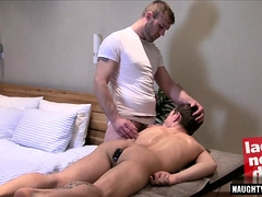Tattoo gay anal sex with massage