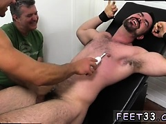Gay sex cop kiss movie first time Dolan Wolf Jerked & Tickle