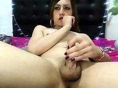 Webcam Solo By An Alluring Tgirl