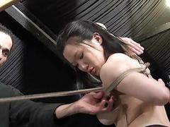 Devils asian suspension bondage and oriental