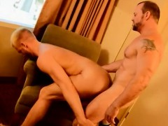 Gay volleyball porn movie The Boss Gets Some Muscle Ass