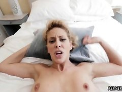 Mom caught me sex Cherie Deville in Impregnated By My