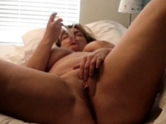 Huge solo orgasm chubby housewife Alice