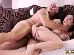 Old man licking first time Rough romp for gorgeous latina