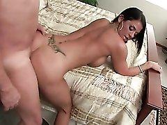 Savannah Stern doggystyle sex with a big cock